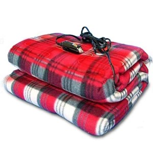 Heated Fleece Blanket