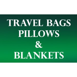 Blankets, Pillows, & Travel Bags