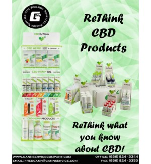 ReThink CBD Products