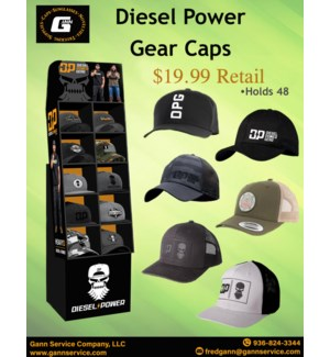 DPG Caps Display