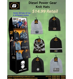 DPG Knit Caps Display