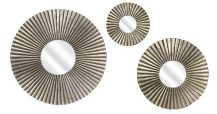 Piper Round Mirrors - Set of 3