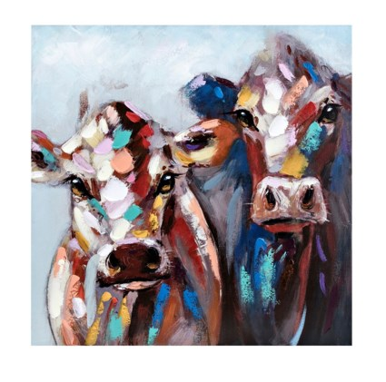 Whimsy Cow Wall Art