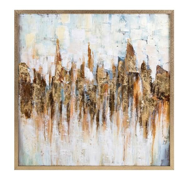 Katsu Framed Oil Painting