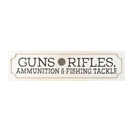 Winchester Guns-Rifles Wall Plaque