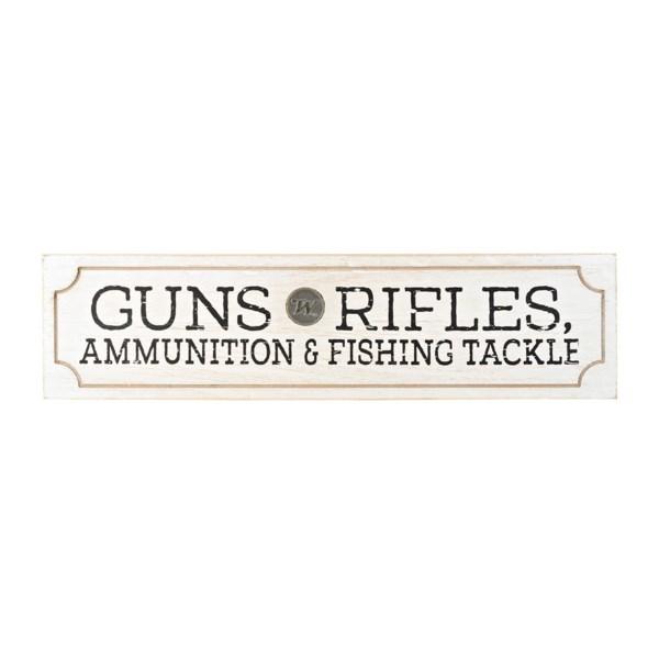 Winchester Guns-Rifles Wall Plaque