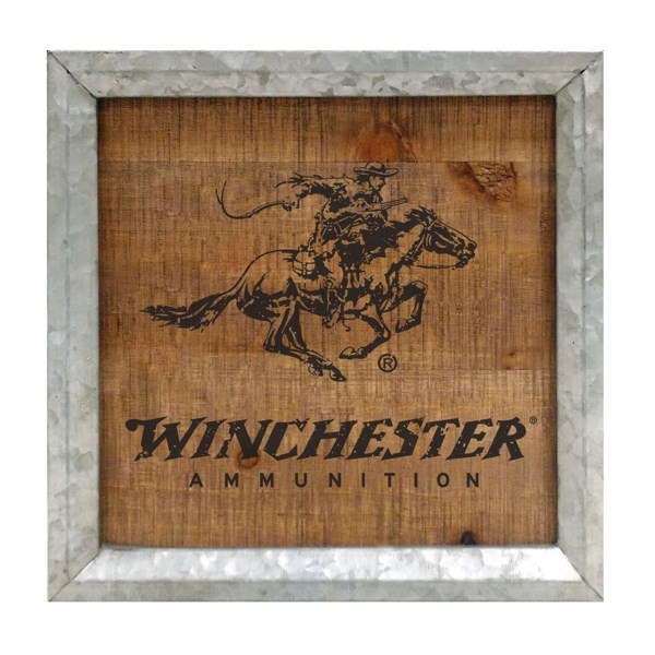Winchester Horse and Rider Wall Sign