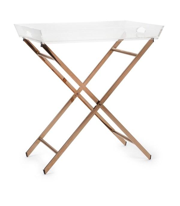 Clinton Acrylic Tray Table