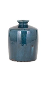 Arlo Small Blue Vase