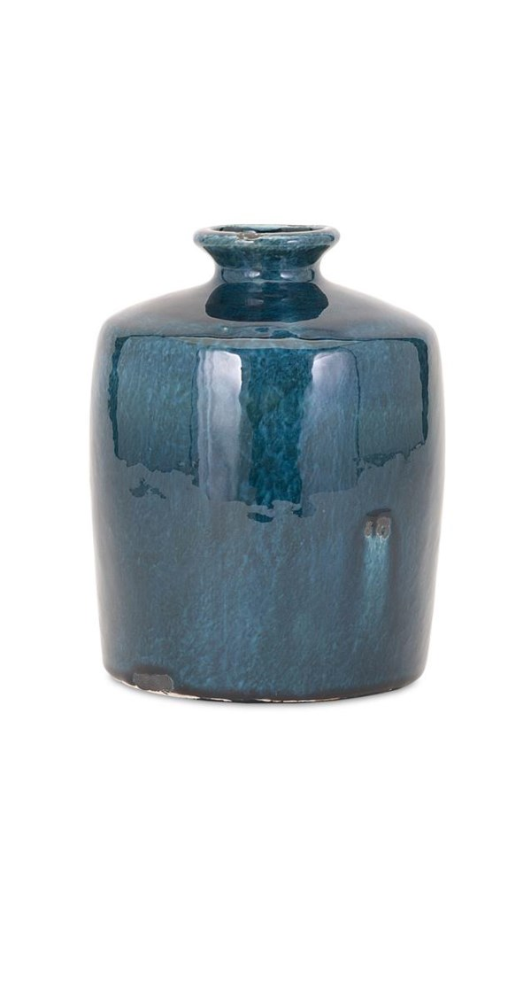 Arlo Small Blue Vase