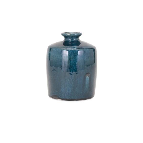 Arlo Small Blue Vase Vases Imax Worldwide Home