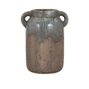 Bardot Large Blue Stone Ceramic Vase