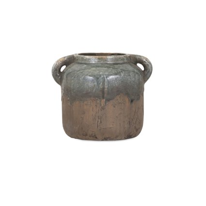 Bardot Small Blue Stone Ceramic Vase