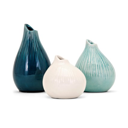 Stein Vases - Set of 3