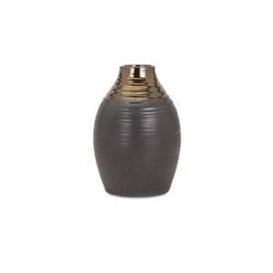Calin Small Bronze Top Vase