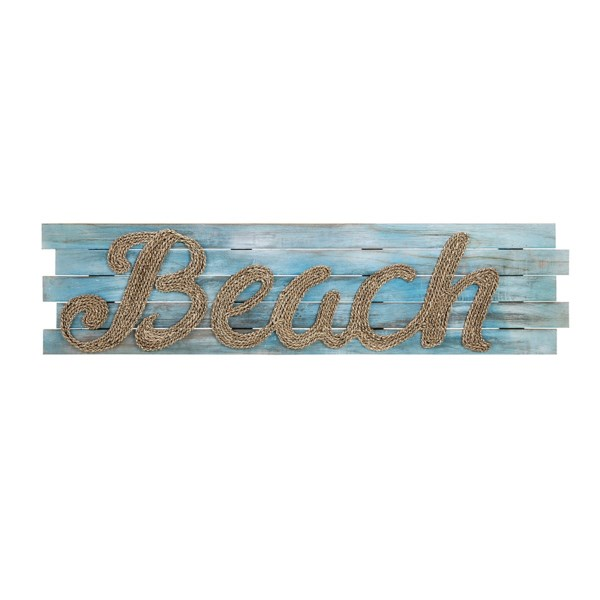 Woven Beach Wall Decor