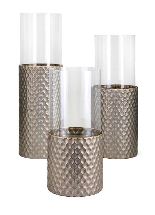 Leila Candleholders - Set of 3