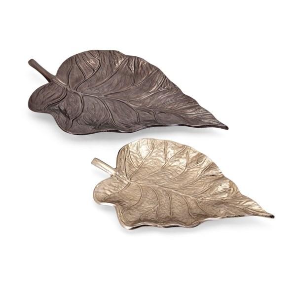 Mabon Decorative Leaf Trays - Set of 2