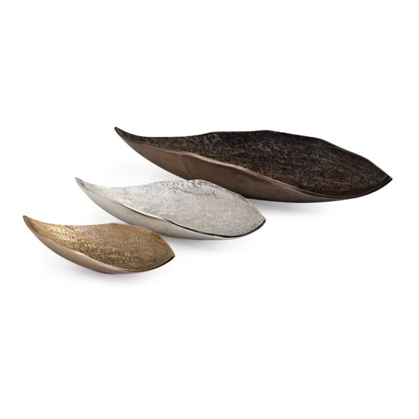 Nalu Organic Decorative Trays - Set of 3