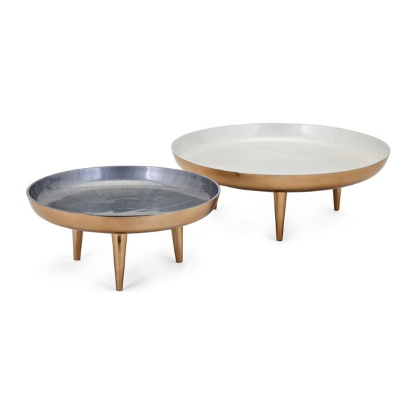 Pryce Decorative Trays - Set of 2