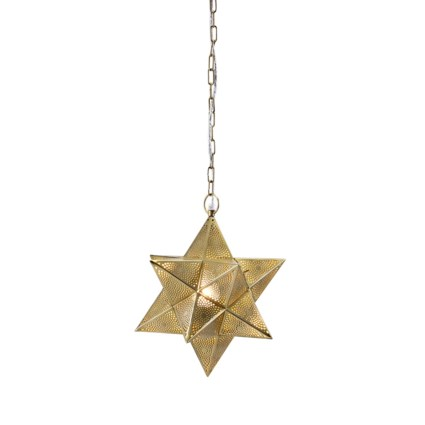 Austin Small Star Pendant