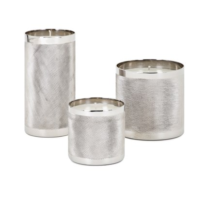 Catena Wax Filled Candleholders - Set of 3