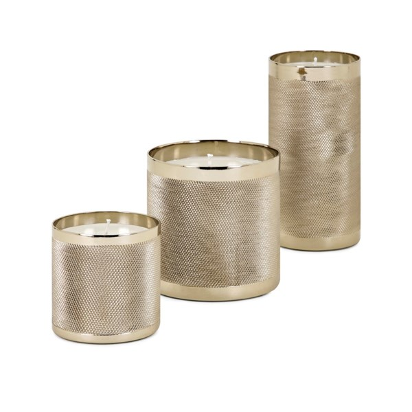 Cosette Wax Filled Candleholders - Set of 3