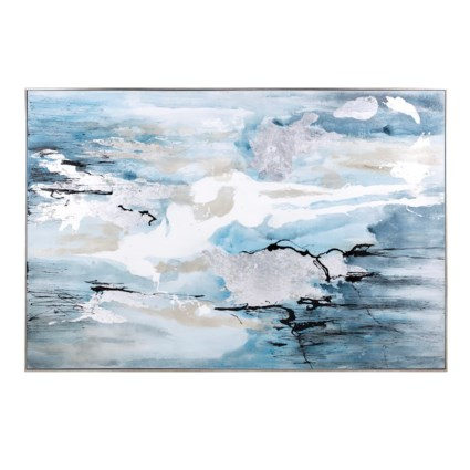 Meridian Framed Oil Painting