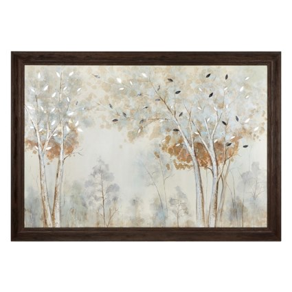 Ancelina Wood  Framed Oil Painting