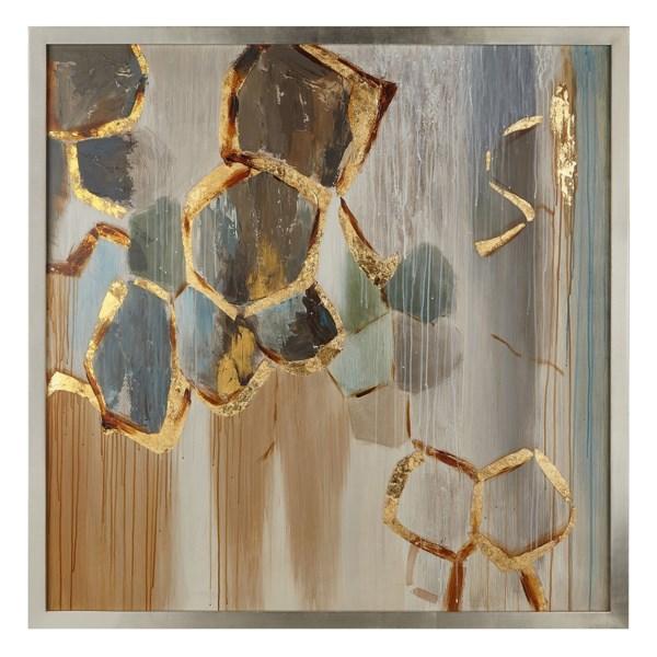 Cordillia  Wood  Framed Oil Painting
