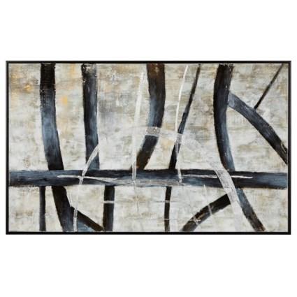 Saville Framed Oil Painting