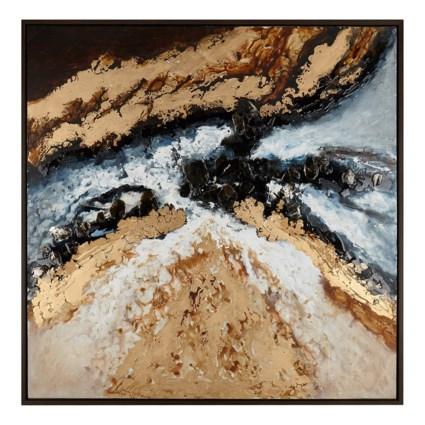 Basilia Framed Oil Painting