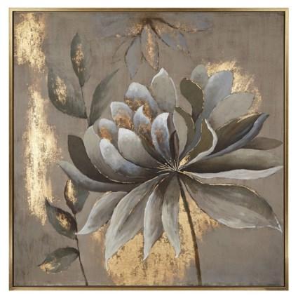 Delia Framed Oil Painting