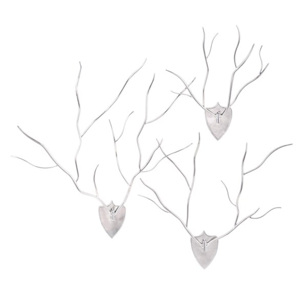 TY New Frontier Wall Antlers - Set of 3