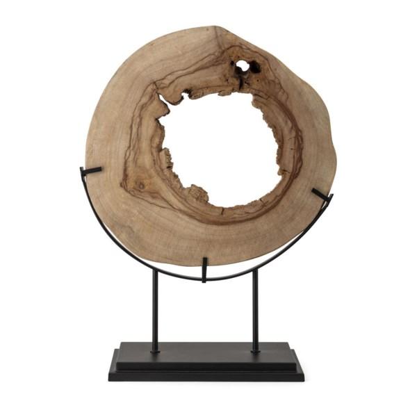 Tioga Large Natural Wood Statuary