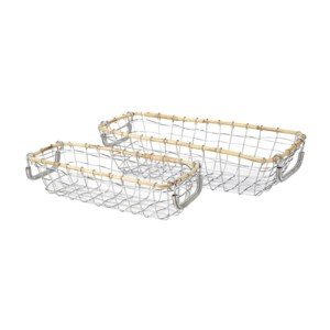 Meyer Metal Baskets - Set of 2