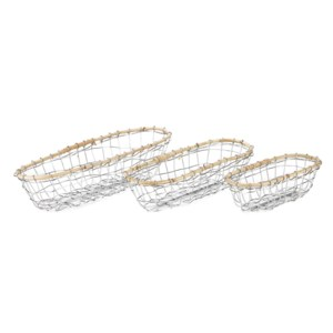 Koresh Metal Baskets - Set of 3