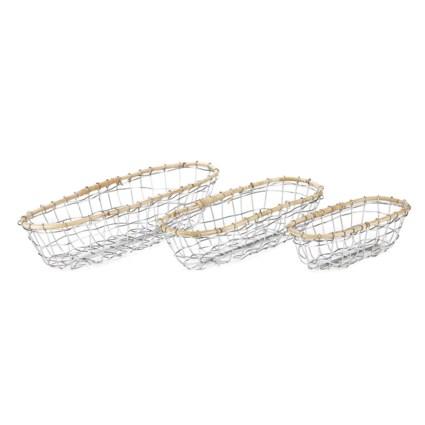 Koresh Metal Baskets - Set of 3