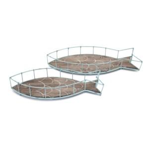 Codi Fish Trays - Set of 2