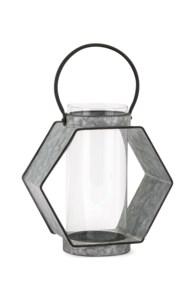Reavis Galvanized Small Lantern