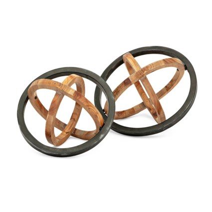 TY Canyon Dimensional Decor - Set of 2