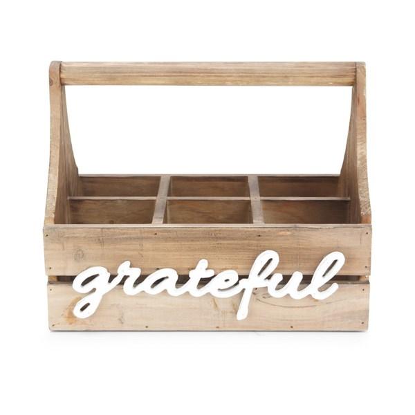 Grateful Wood Caddy