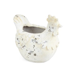 Irene Rooster Planter