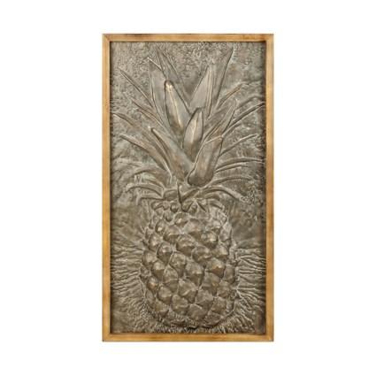 Takis Pineapple Metal Wall Decor