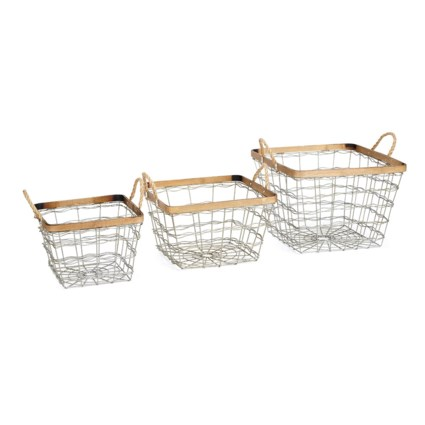 TY Nightingale Baskets - Set of 3