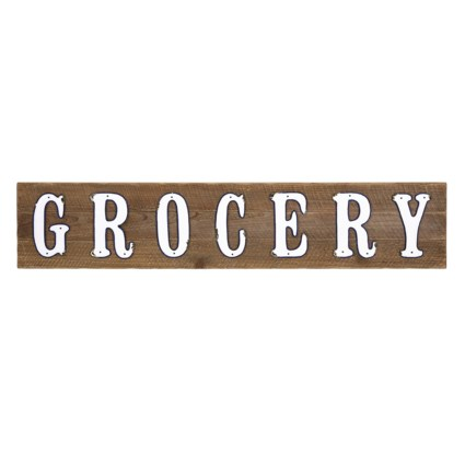 Grocery Wall Decor