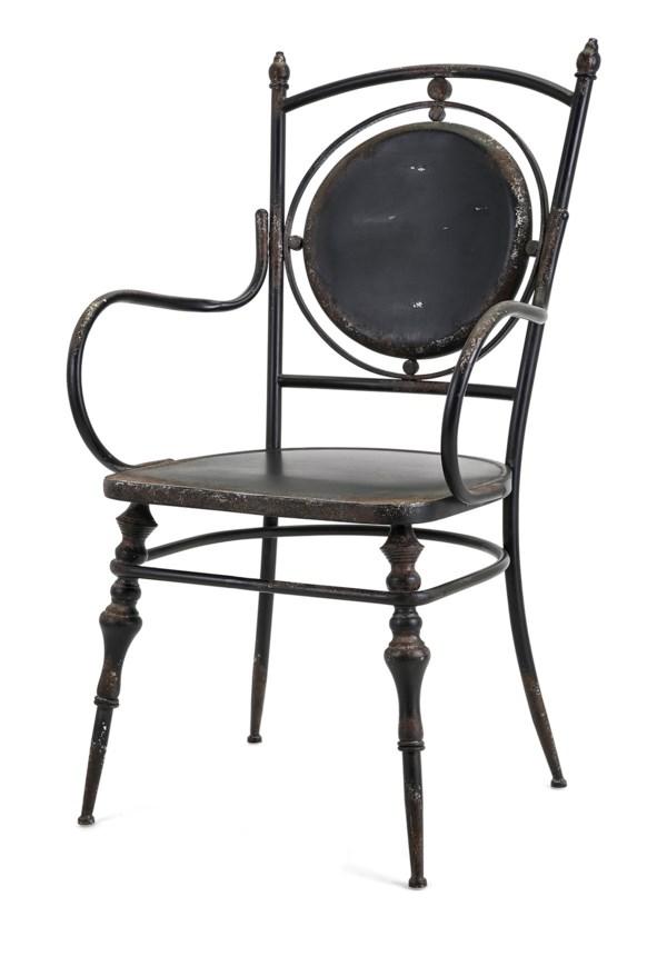 Beric Metal Arm Chair