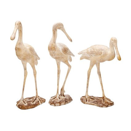 Seagull Statuaries - Set of 3