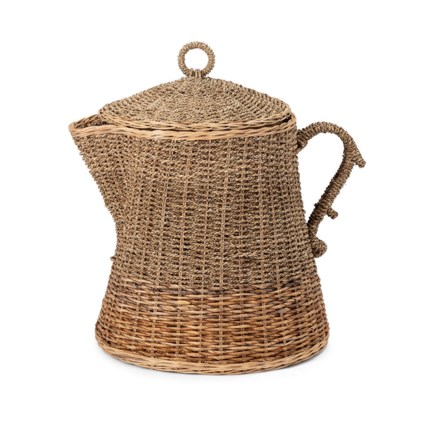TY Coffee Talk Oversized Coffee Pot Basket