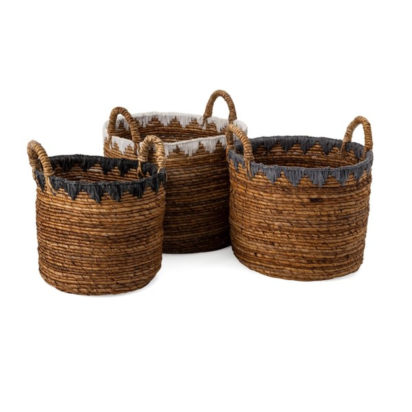 Mason Baskets - Set of 3